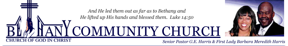 Bethany Community Church of God In Christ